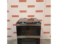 60cm double oven zanussi electric cooker #7123