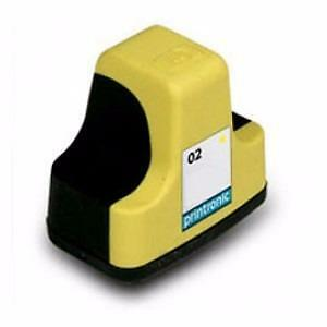 Hp 02 (C8773WN) Ink Cartridge Yellow Remanufactured