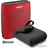 BOSE Soundlink Color bluetooth speaker and case