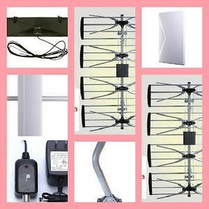 Weekly Promo!  HDTV Digital Antenna, Amplified indoor HDTV Antenna, outdoor HDTV Antenna