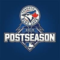Toronto Blue Jays ALDS Game 1  - Section 113 Row 5 - $350/each