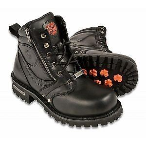 Leather MOTORCYCLE BOOTS on SALE! Until July 25th!