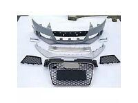Audi A3,A1,A2,A4,A6,Q5 , bumper,wing bonnet all parts