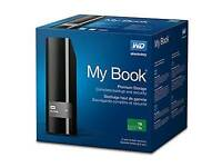 WD MY BOOK 2TB POWERED EXTERNAL HARD DRIVE