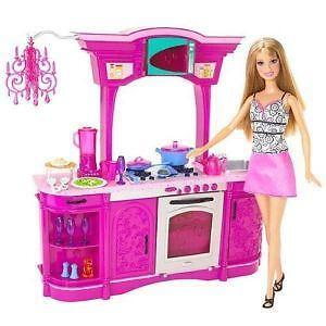 barbie kitchen ebay. Black Bedroom Furniture Sets. Home Design Ideas