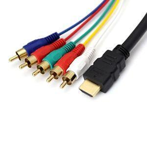 Hdmi To Component Video Cables Amp Interconnects Ebay