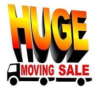HUGE INDOOR MOVING SALE!!