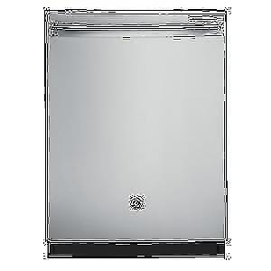 Lave-vaisselle GE encastré cuve longue en acier inoxydable 48dba a vapeur