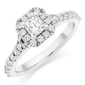 HEARTS ON FIRE DIAMOND SOLITAIRE RING w Appraisal