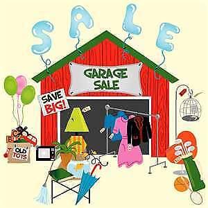 Yard sale in Peterborough