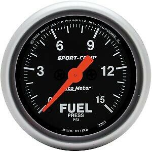 Looking for electric fuel pressure gauge and tires.