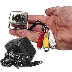 Mini Color Surveillance Camera w/Built-in Microphone