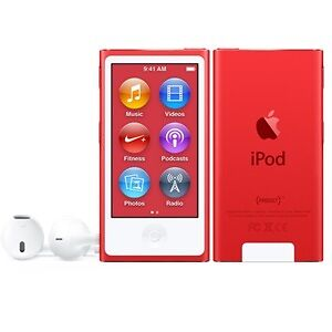 Apple iPod Nano 7th Gen - RETAIL BRAND NEW & SEALED