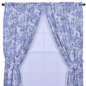 Toile Curtains Ebay