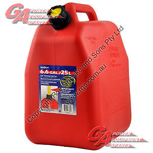 25L gas can  $10