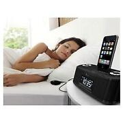 Docking Station with Alarm Clock