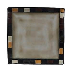 Mosaic Tile Dinnerware Set - excellent condition (like new)