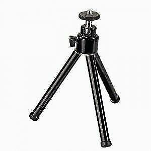 10'' Black Mini Universal Metal Tripod Stand For Camera
