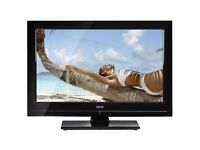 """Isis 32"""" Lcd Full Hd 1080p Slimline Tv Built In Freeview Hdmi Excellent Condition"""