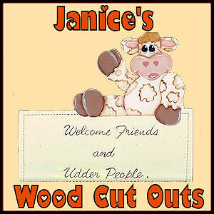 JANICE'S WOOD CUT OUTS