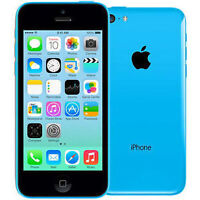 I PHONE 5C -16GB BLUE LOCKED TO TELUS MINT CONDITION
