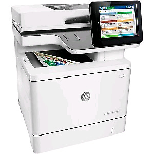 Brand New HP Color Laserjet MFP M577 with 4 brand new ink toners