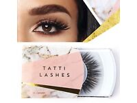 Tatti Lashes 4 sets of TL22 and 4 sets of TL25