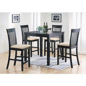 BRAND NEW - 5 PC Counter Height Dining Set