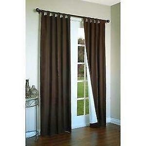 thermalogic in bath tab curtains panel buy window weathermate inch pair beyond wide curtain from top double bed