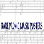 RARE PROMO MUSIC POSTERS