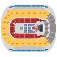 Level 200, close to stage Justin Bieber Tickets @ Saddledome