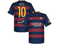 Lionel Messi barcelona football shirt