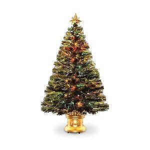 32 inch fiber optic christmas tree