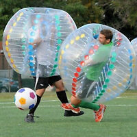 TRY THIS OUT!!!! BUBBLE SOCCER!!!!!