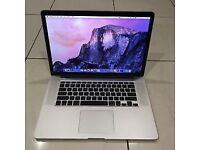 "MacBook Pro 15"", 2.3GHz Intel i7, 8GB Ram, 256 SSD,2012, Office 2016"