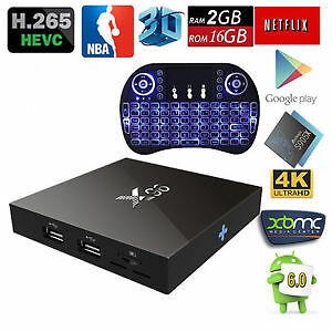 X96 FULLY LOADED ANDROID TV 16 GB STORAGE 2 GB RAM!!