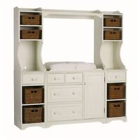 Pottery Barn Kids Madison changing table system