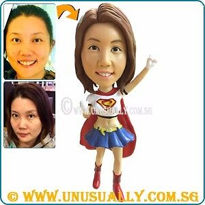 Custom 3D Unusually MiniMe Figurine Of Yourself - One & Only - Perfect Gifts Etc