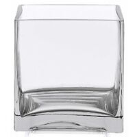 "20 6"" x 6"" glass vase for wedding decoration"