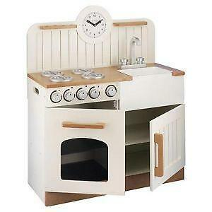 Modern Wooden Play Kitchen wooden kitchen | childrens wooden play kitchens | ebay uk