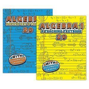 Teaching Textbooks Algebra 1