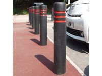 new bollards for carparks and drives oversleaves