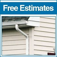 Seamless Gutters, Free Quotes/Estimates