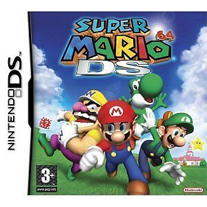 SUPER MARIO 64 DS : for Nintendo DS NDS DS LITE NDSL DSI XL 3ds UK PAL EUR SUPER