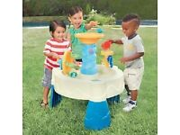 Little Tikes Spiralin Seas Water Table, new box damaged