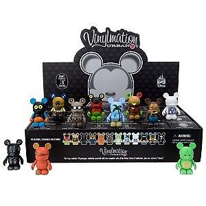 URBAN 3 SEALED CASE  TRAY 24 PC PARK 1 PRINT DISNEY BALLOON CHASER VINYLMATION
