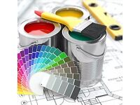 Professional Painting and Decorating services .