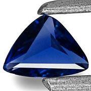 Unheated Kashmir Blue Sapphire