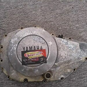 1982 Yamaha 400 XS MAXIM XS400-RJ Used Engine Clutch Cover