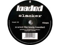 "Slacker ‎– Scared Vinyl, 12"" 45 RPM 1996"
